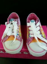 Hello kitty shoes for girls size 7. Raimbow Kitty .Pink multi