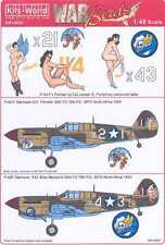 Kits World Decals 1/48 CURTISS P-40F WARHAWK 79th FG North Africa #1