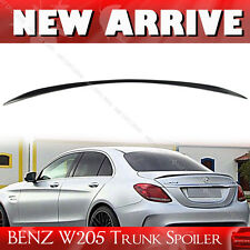 A Style Rear Trunk  Spoiler Painted Mercedes BENZ W205 Sedan C300 C250 2016