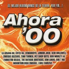 4 CD-Box++V. A. - AHORA '00++gut. Zust.++Eiffel 65,Pet Shop Boys,Vengaboys,Mabel