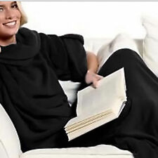 Cuddle Blanket Throw Snuggle with Sleeves Snuggie TV Fleece Print New 4798