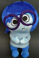 Disney Pixar Inside Out Jumbo Coin Purse Sadness Stuffed Animal Plush Blue Toy