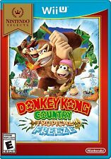 NEW Donkey Kong Country: Tropical Freeze (Nintendo Wii U, 2014) Selects Cover