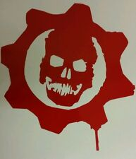 Gears of War Wall Sticker Vinyl Decal A4 Sticker