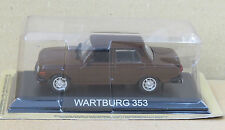 "DIE CAST "" WARTBURG 353 "" LEGENDARY CARS SCALA 1/43"