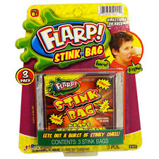 Flarp! Stink Bags Funny Prank Hilarious Gag Gift Toy Stink Bombs