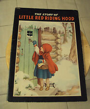 "Vtg 1941 Children's Book~""The Story of LITTLE RED RIDING HOOD""~Samuel Lowe Co"