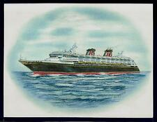 Original Art Work..ms  DISNEY MAGIC...cruise ship....Disney Cruise Line