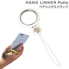 Hand Linker Putto Bearing Phone Finger Ring Strap Holder Accessory (White)