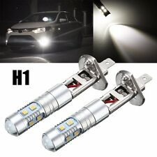 2x H1 50W Bombilla LED Xenon High Power Fog Light Daytime Running Bulb DRL 6000K