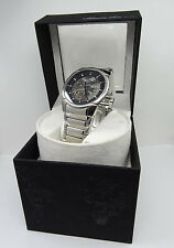 Kenneth Cole KC3898 Men's Skeleton Automatic Watch w/ Winding Display Box