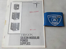 TRYGON PS24-700 SILICON MODULE POWER SUPPLIES INSTRUCTION MANUAL