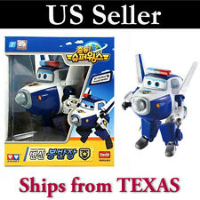 BJ BONG (PAUL) - Auldey Super Wings Transforming Plane Toy Robot  / USA SELLER