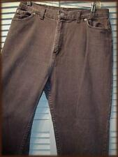 "FADED GLORY Classic 5 Pocket Jean Pant (16P) Brown 32"" waist 42"" hip USA Made"