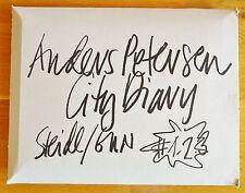 ANDERS PETERSEN - CITY DIARY - 2012 - 3 VOLUME SET IN ORIGINAL CARDBOARD SLEEVE
