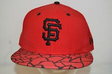San Francisco Giants Red/Black  Baseball Cap  Fitted 7 3/8