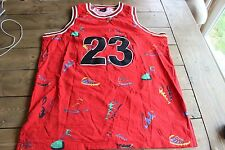 SUPER RARE Vintage #23 Jordan Shoe Basketball Jersey by SMX 2XL