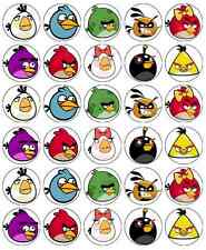 Angry Birds Cupcake Toppers Edible Wafer Paper BUY 2 GET 3RD FREE!