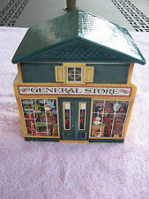 Avon McConnell's Corner General Store Covered Ceramic Box - 1982~Made In Japan!