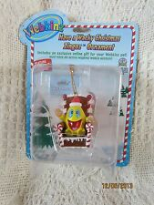 WEBKINZ WACKY ZINGOZ CHRISTMAS ORNAMENT RARE NEW W/CODE VERY HARD TO FIND
