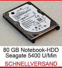 "80 GB disco rigido 2,5"" 6,35cm NOTEBBOK IDE PATA per Dell Latitude d600 d610 d800"