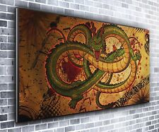 Chinese Dragon Panoramic Wall Art Canvas Print XXL 4.5 ft wide x 2 ft high