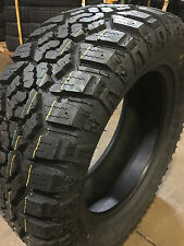 4 NEW 37x12.50R17 Kanati Trail Hog LT Tires 37 12.50 17 R17 3712.5017 10 ply