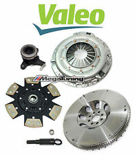 VALEO-STAGE 3 HD CLUTCH KIT+ SLAVE CYL+ CHROMOLY FLYWHEEL for 350Z 370Z G35 G37