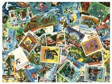Disney Stamp Collection - 150 Different Stamps, All Mint