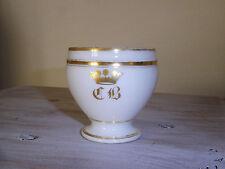 Tasse ancienne Porcelaine de Paris milieu 19ème Couronne Ducale / French Ceramic