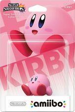 Figura de caracteres Nintendo Amiibo Kirby Super Smash Bros Wii U 3DS a estrenar!!!