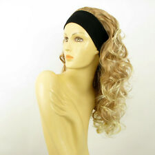headband wig long curly light blond blond copper wick clear BUTTERFLY 27t613