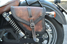 SADDLE BAGS LEFT&RIGHT FOR HARLEY DAVIDSON DYNA STREET BOB FAT BOB MADE IN ITALY