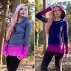 Women's Tie Dye Hoody Hoodie Hooded Sweatshirt Pullover Jumper Long Tops Blouses