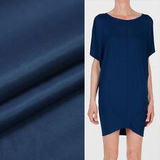 """Deep blue 70% silk blending 30% cotton twill fabric 21momme 55"""" width,SCT232"""