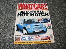 WHAT CAR ?   MAGAZINE  JULY    2002    ENGLISH MONTHLY