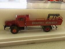 Brekina Mercedes Benz 4500 Brauerei Moninger Bier LKW Sammlung in OVPPos.210/500