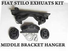 Fiat Stilo de escape de Montaje Kit de reparación de goma Colgador medio posterior Soporte de montaje
