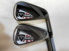 New Callaway RAZR X Black Iron Set 6-7 Graphite Ladies Irons Womens 6+7 iron