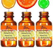 2.2 oz 100% Hyaluronic Acid, Matrixyl 3000 45%, Vitamin C 20% Best Facial Serum!