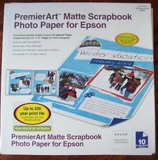 PremierArt™ Matte Scrapbook Photo Paper for Epson SCR1003