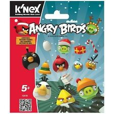 K'NEX ANGRY BIRDS CHRISTAMS MYSTERY FIGURES 9 STYLE RANDOM FOR 1 KN72078