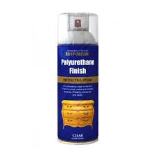 x7 Rust-Oleum Ultra-resistente Poliuretano Trasparente Vernice Spray Lucido