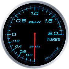 Defi Advance BF Turbo Boost Meter (-100kPa to +200kPa) 60mm Blue DF09903
