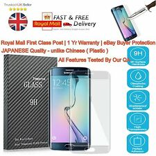 Oleofobic Coated 0.2mm Thin 3D Tempered Glass Saver Japan QLTY FOR S7 Edge
