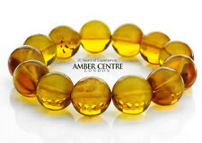 Unique Mexican Natural Amber Bracelet Small size  RRP£1095!!! - W047
