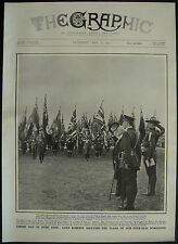 Empire Day Lord Roberts Mr Kyle Boy Scouts Hyde Park 1909 1 Page Photo Article