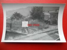 PHOTO  K&WV RLY NOTICE BOARD AT KEIGHLEY 19-8-71