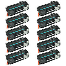 10PK High Yield CF280X 80X Toner Cartridge For HP Laserjet Pro 400 M401d Printer