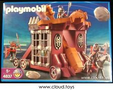 Discontinued Playmobil 4837 Medieval Castle Knights Siege Catapult NEW MISB